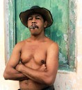"""Cuban Dude"" by Laurie McCormick"