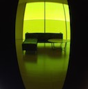 """Refraction in Yellow Green"" by Jo Scheder"