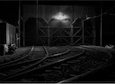 """Trolley Museum at Night"" by Eric Rennie"