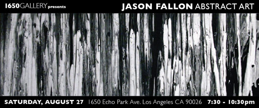 Jason Fallon Painting Exhibition