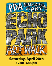 Echo Park Art Walk 2013