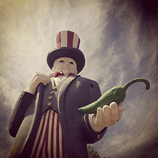 """Uncle Sam Says Eat Chile"" by Deonne Kahler - Picturing America Photography 2015 Exhibition 1650 Gallery"