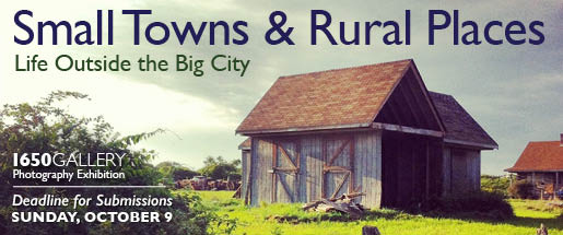 Small Towns and Rural Places Photography Exhibition