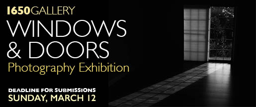 Windows & Doors Photography Exhibition