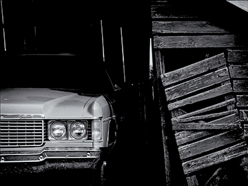"""Chevrolet"" by Suszi Lurie McFadden - Planes, Trains & Automobiles Photography 2017 Exhibition 1650 Gallery"