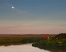 """Moonrise Over Red Barn"" by Robin Black"