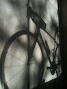 """Shadow Bicycle - Series 2"" by Gabriella Szabev"