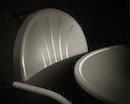 """Chair, Table, Light, Shadow"" by Larry Torno"