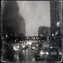 """A Rainy Night in Newark"" by Marian Rubin"