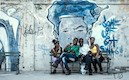 """Family on Havana Bench"" by Allen Davis"