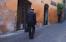 """Man Walking, Rome"" by Bruce Berkow"