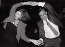 """dancing couple"" by gary gruber"