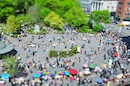 """Tilt Shift Union Square Park, NY"" by Richard Silver"