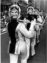 """Belushi Mask Band Parade, NYC"" by Len Speier"