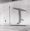 """light pole and shadown"" by gary gruber"
