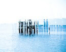 """Pier Abstract No. 3"" by Samantha Schwann"
