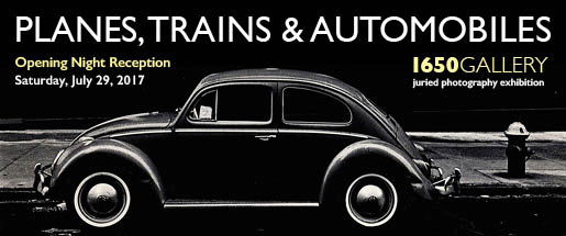 Planes, Trains & Automobiles 1650 Gallery Photography Exhibition